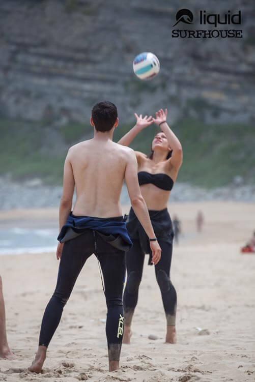 Volleyball Beachfun in Langre