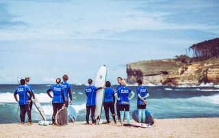 surf theorie am Langre Strand